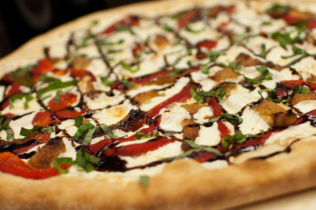 Balsamic Chicken Pizza